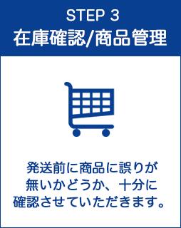STEP3:在庫確認/商品管理