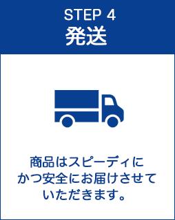 STEP4:発送
